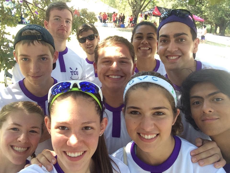 TCU Rowers @ Regatta in Austin.